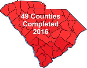South Carolina was completed in 2016